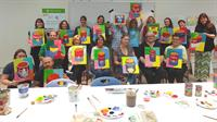 Creative Spirits (a paint-and-sip workshop) at The Hyde