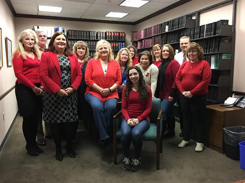 Participating in the Go Red for Women