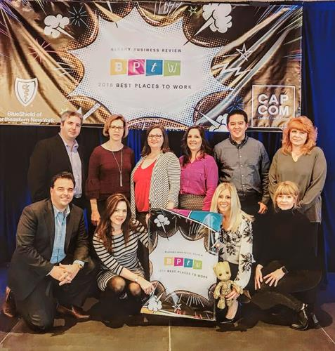 GTM is named a Best Places to Work by the Albany Business Review for the 10th time.