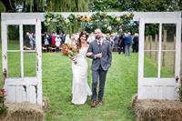 Wedding at Lakeridge Farm in Ballston Lake, NY