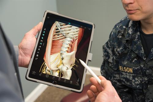 3D apps help you understand the detail of what is happening in your body.