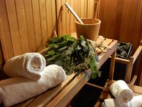Dry heat sauna to cleanse and purify.