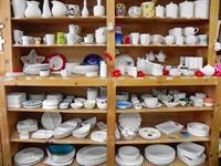 Some of our pottery you can choose from!