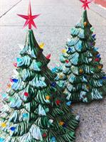 Those Christmas trees your great Aunt had? Make a new one here!