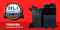 Buyers Lab 2017 Pick for our eStudio line of multi-function printers!