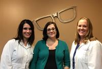 Bay Optical -Saratoga:  Tamara, Audra, and Dr. Brenda Dobie