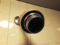 shower head after proper cleaning