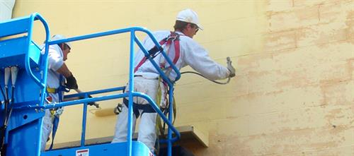 Industrial and commercial painting applications.