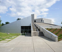 The Frances Young Tang Teaching Museum and Art Gallery at Skidmore College