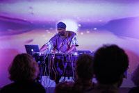 Kamau Amu Patton performs at the Tang, April 14, 2017