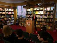 Presentation at Northshire Bookstore in Saratoa
