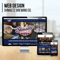 Website Design: Shmaltz Brewing Co.