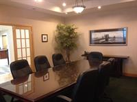 Our executive boardroom conference room space