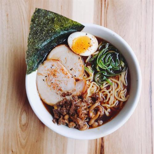 Ramen (Wednesday winter special) at Hamlet & Ghost