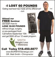Call today to Lose Weight!!