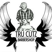 tru cutz barbershop logo