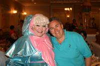 Me with my fairy Godmother