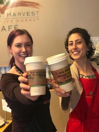 Mohawk Harvest serving coffee on 100in1 Day