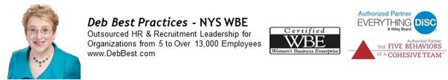 Deb Best Practices - NYS WBE - Part-Time Outsourced / Interim Senior HR (Human Resources) Leadership