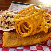 Fish and Onion Rings