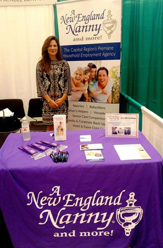 Melissa at the Saratoga Chamber Business Expo