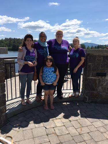 Nannies provide child care for a conference in Lake Placid
