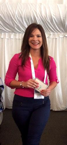 Melissa at the International Nanny Association Conference