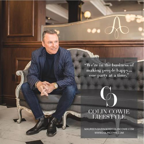 Colin Cowie at The Adelphi Hotel (Bigler photo)