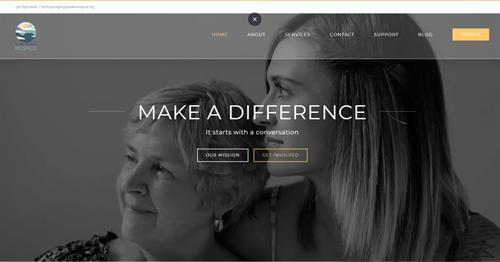 High Peaks Hospice Website
