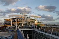 Harmony of the Seas - water slides