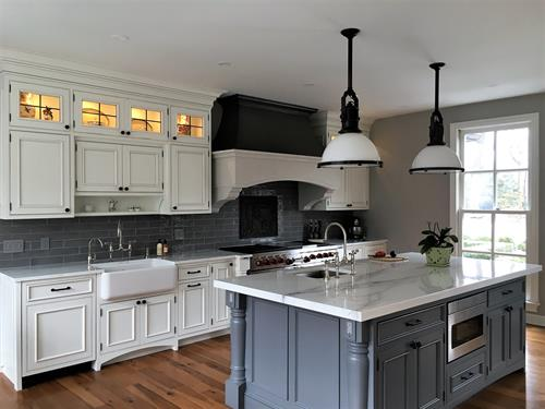 Modern French Country Kitchen   Design by Arthur Zobel