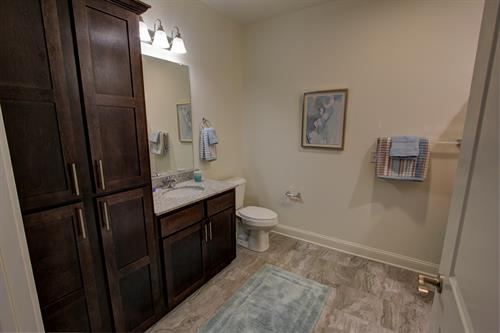 Bathrooms with plenty of storage