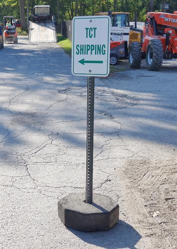 Portable Sign Bases and Posts