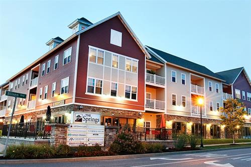 We are conveniently located in The Springs complex in Saratoga Springs, NY.