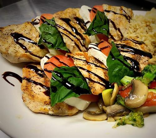 Chicken Caprese Entree