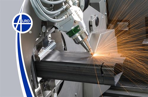 Alro Steel Tube Laser Cutting