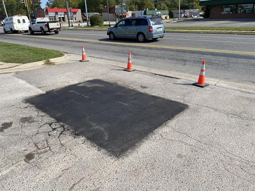 Pothole Repair - After