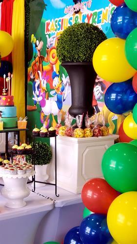 """Disney Playhouse"" Themed Birthday Party"