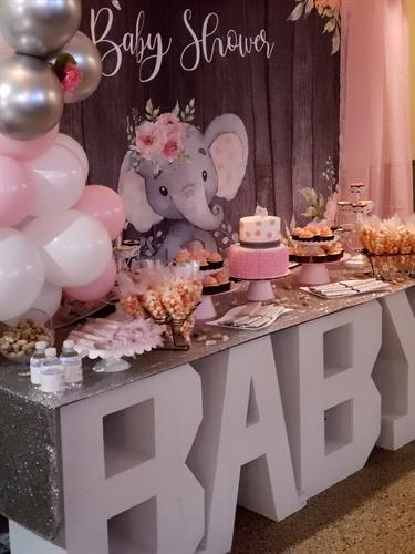 """Our Little Peanut"" Themed Babyshower"