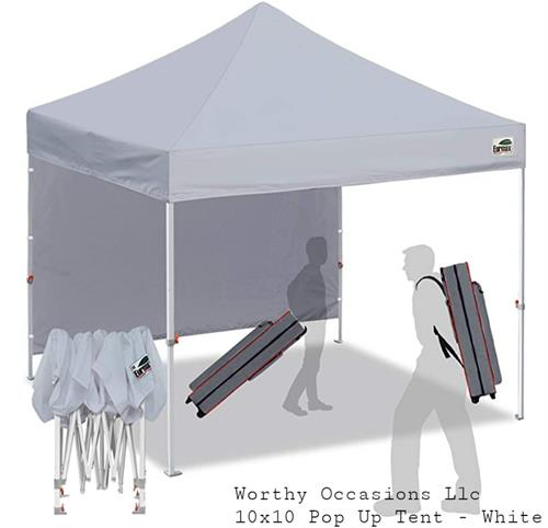 10x10 Popup Tent - Rental/ Color Options Available