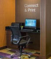 Complimentary business center and complimentary wifi throughout hotel.