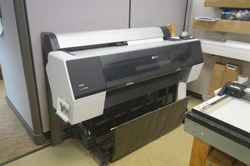Picture This...Jackson has the largest wide-format printer in town.