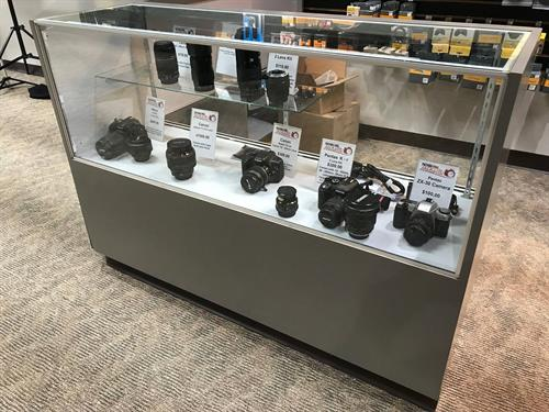 Our consignment case is a popular way to get money for your old gear.