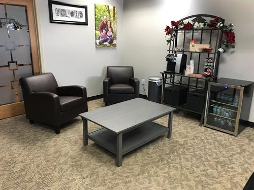 Seating and lounge area