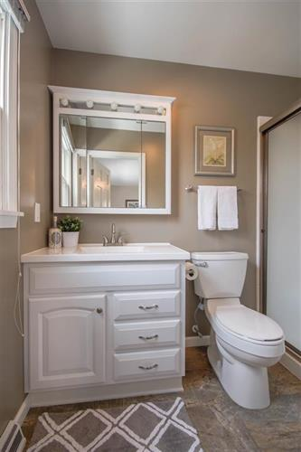 Staged Bathroom by Just Staged