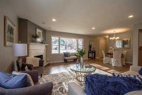 Staged Living Room by Just Staged