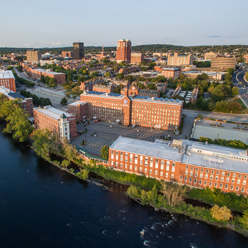 At the University of New Hampshire at Manchester, the city is our campus.