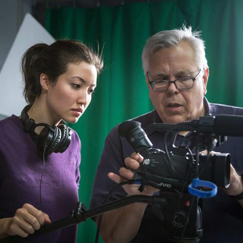 Communication arts students learn to script, film and edit their own productions in state-of-the-art video and audio editing studios.