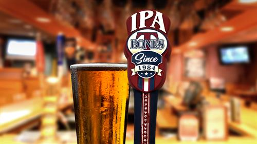 Try our own T-BONES IPA