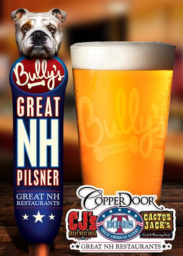 Bully's Pilsner - found at T-BONES!